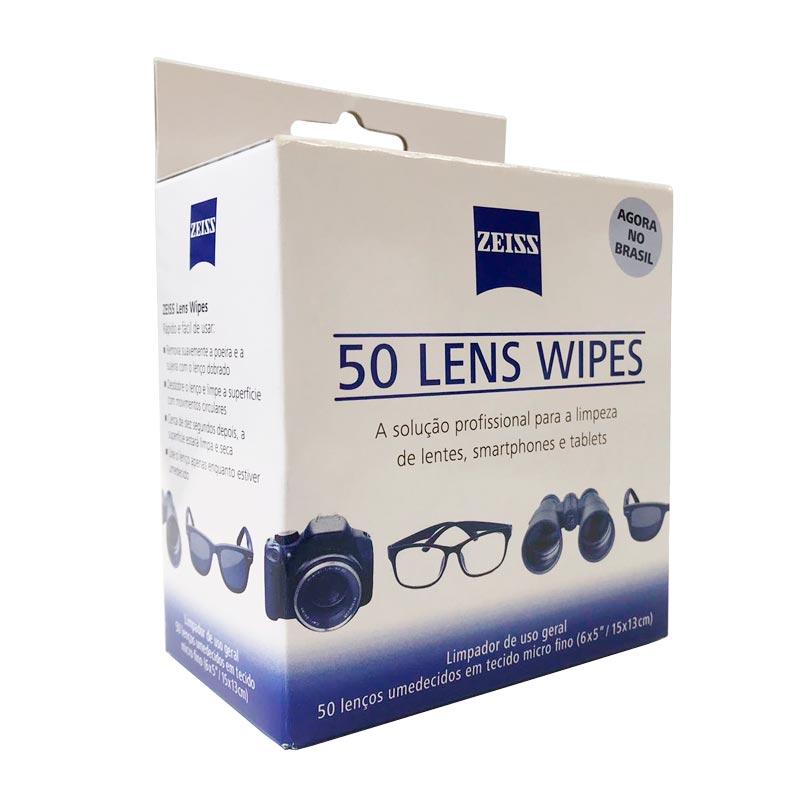 968ff50ef4fd5 Lens Wipes com 50 unidades