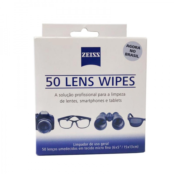 Lens Wipes 50 unidades