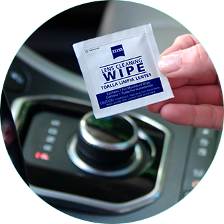 Lens Wipes - 50 unidades